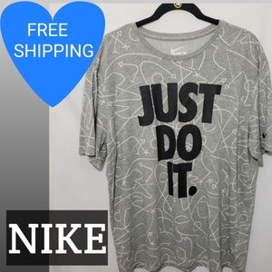 Nike Mens Dri-Fit Just Do It Tee. NWOT